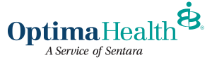 Optima Health A Service of Sentara Logo